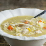 Easy Chicken and Baby Dumpling Soup