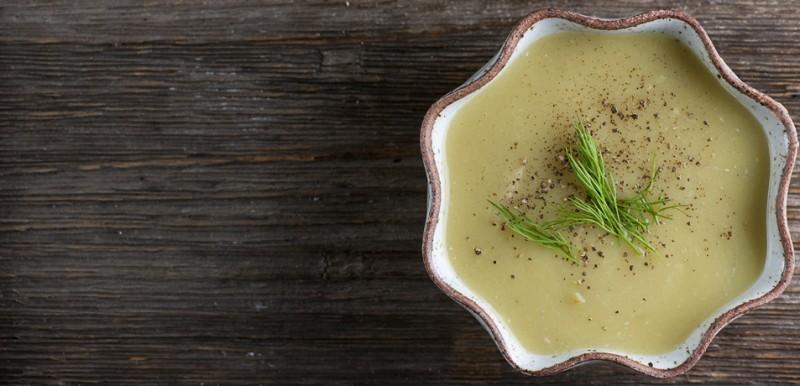 Potato Blue Cheese Soup
