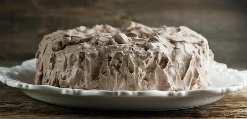 Heath Bar Birthday Cake