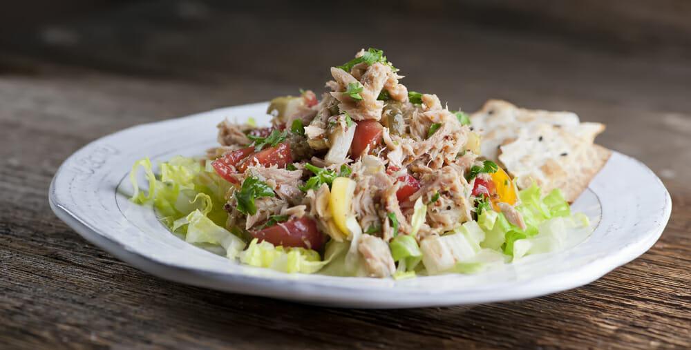 Mustard Tuna Salad
