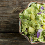 Easy Pineapple Guacamole