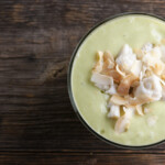 Avocado Coconut Crab Soup