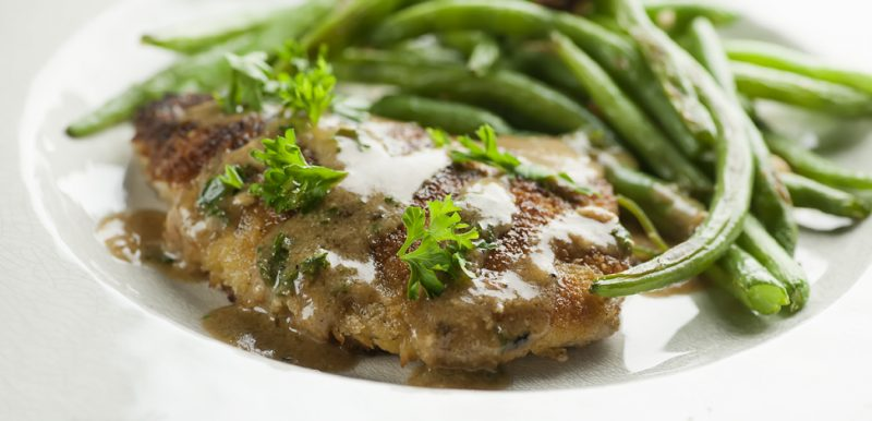 Pounded Pork Chops