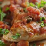 Tomato Caper Chicken