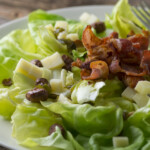 Warm Bacon And Cheese Salad