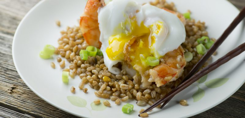 Shrimp Fried Farro