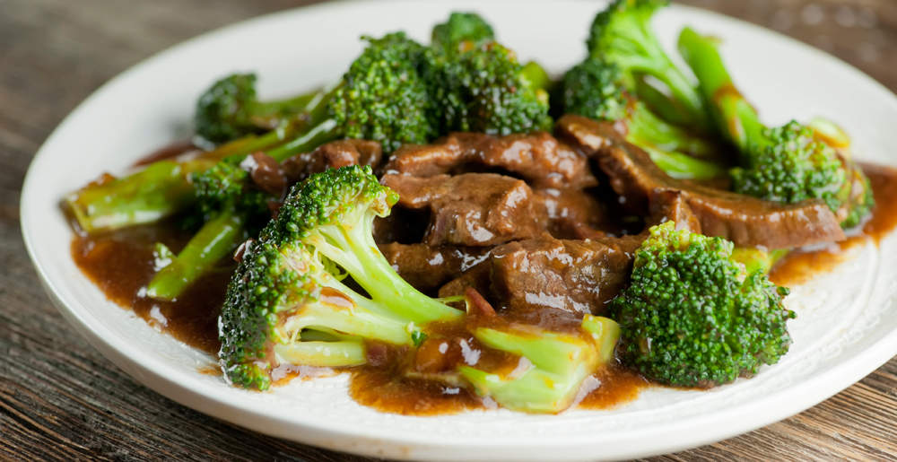 slow cooker beef with brocolli