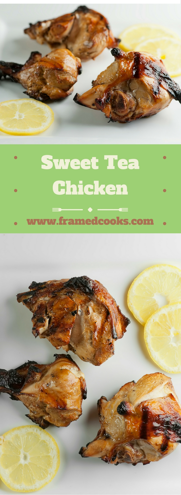 Give your grilled chicken a Southern taste by marinating it in a mixture of sweet tea and herbs with this recipe for sweet tea chicken.