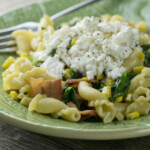 Summer Corn and Bacon Pasta
