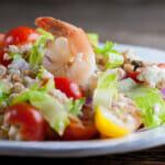 Shrimp Farro Salad