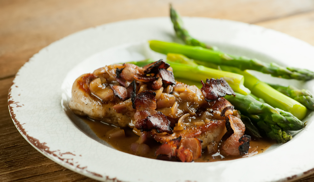 bacon sauce recipe chicken with cider and bacon sauce it cider bacon ...