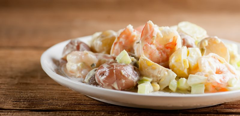 Shrimp and Baby Potato Salad