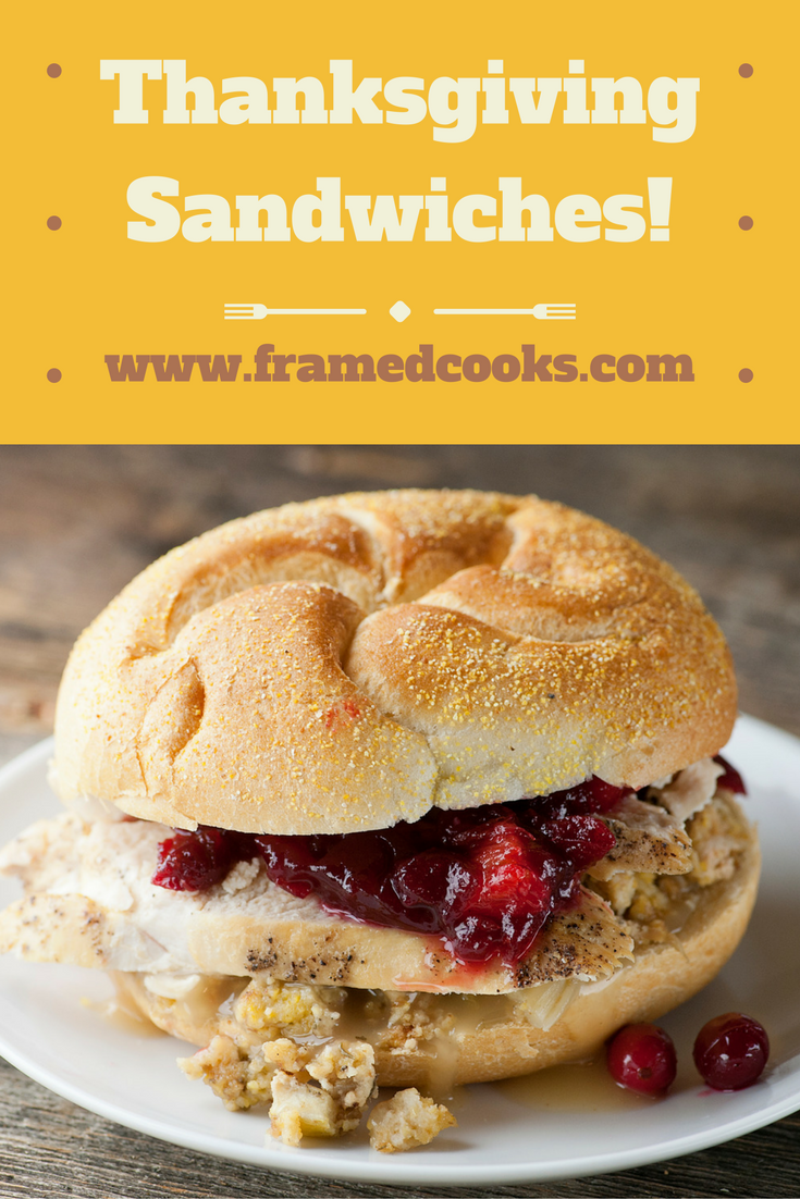Be grateful all over again with this easy recipe for Thanksgiving sandwiches.  Put those turkey leftovers to work!