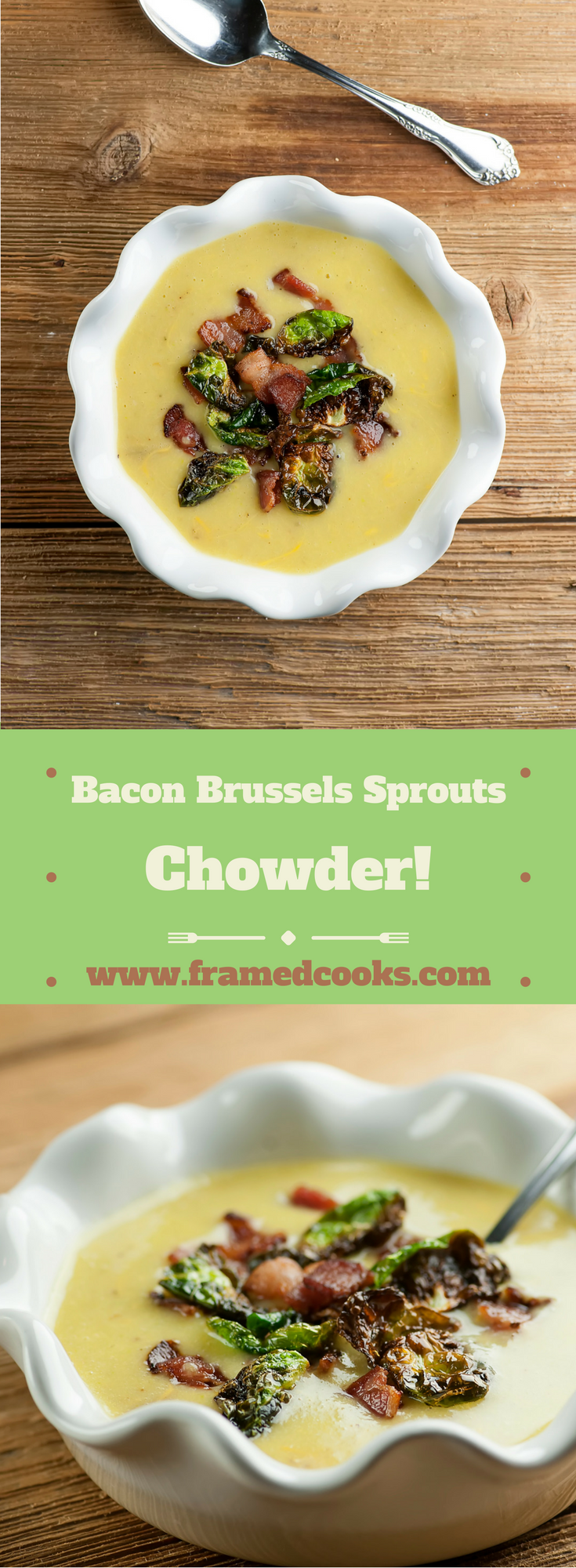 Win over all the skeptics with this recipe for hearty bacon Brussels sprouts chowder!