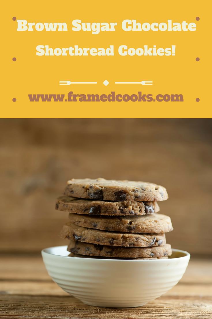 These melt in your mouth brown sugar shortbread cookies take just four ingredients!