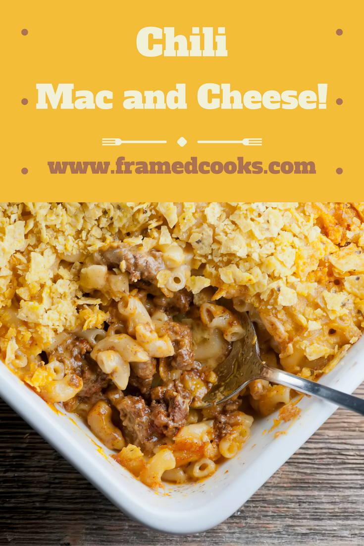 Spice up an old favorite with this easy recipe for chili macaroni and cheese!