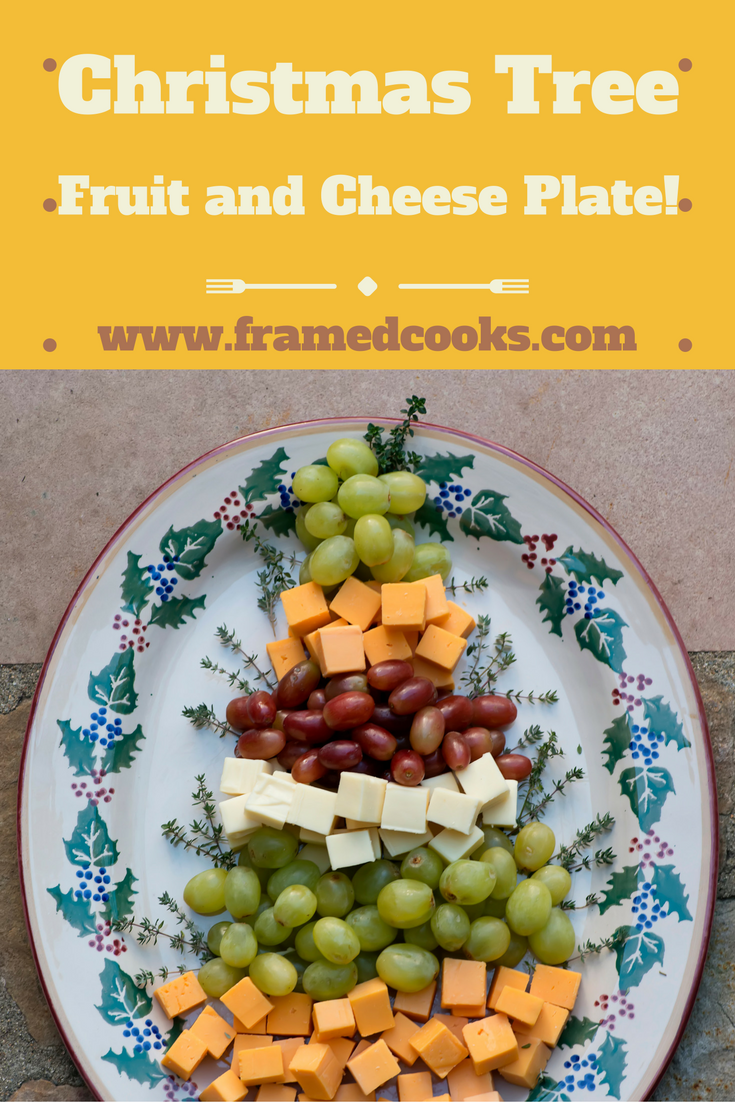 Give your holiday cheese board a merry theme with this easy to make Christmas Tree Fuit and Cheese Platter!