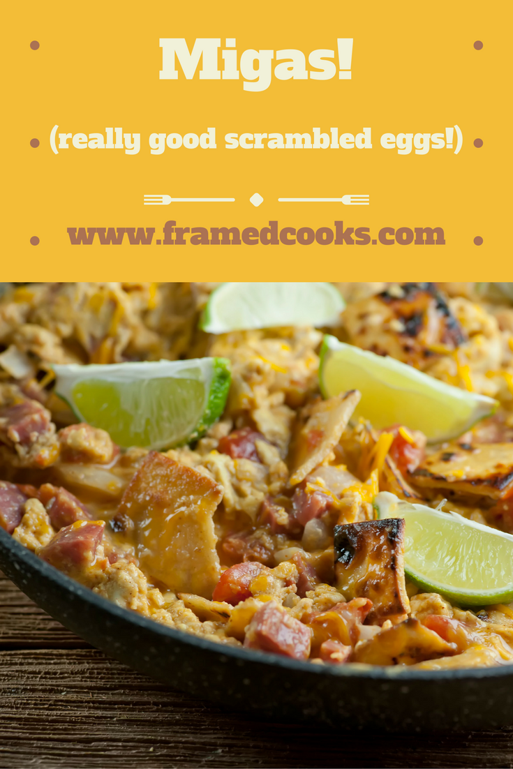Take your eggs from good to spicy delicious greatness with this easy recipe for migas!