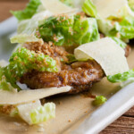 Flipped Chicken Caesar Salad