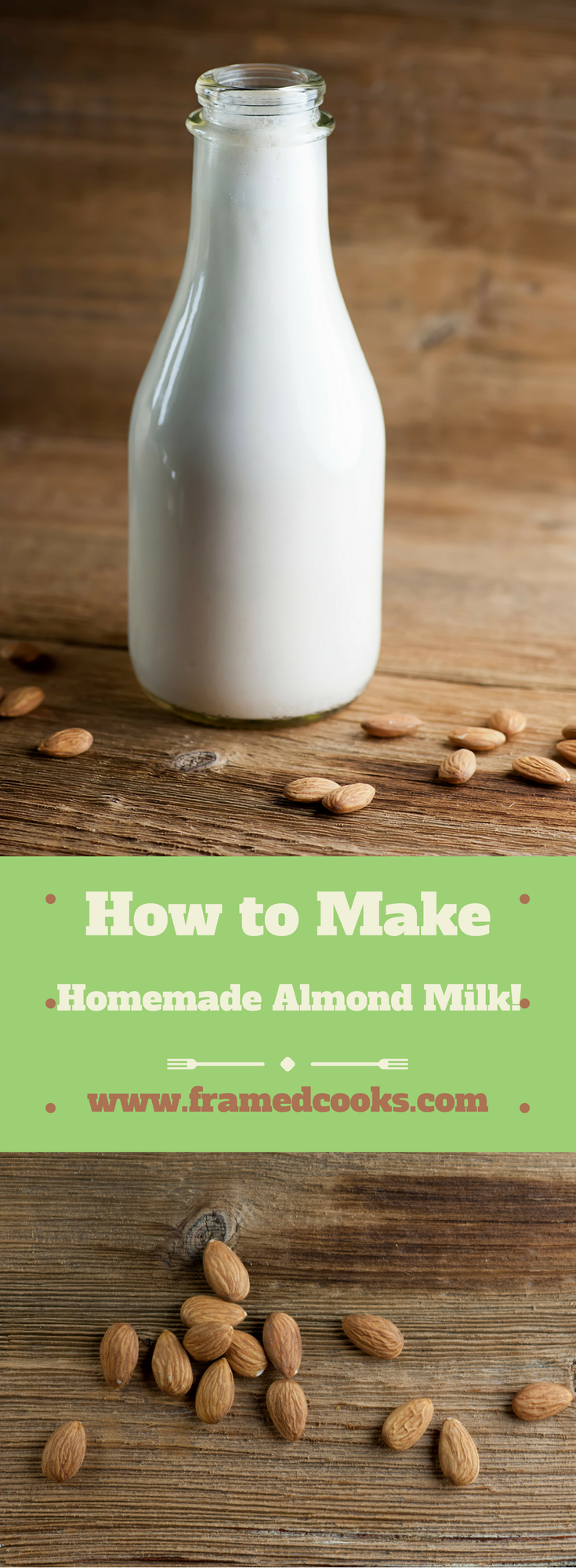 Making your own homemade almond milk is ridiculously easy with this simple recipe!