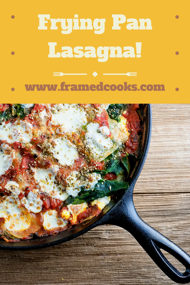 Everyone's favorite pasta supper gets a whole lot easier with this recipe for frying pan lasagna!