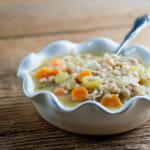 Rosemary Chicken Soup