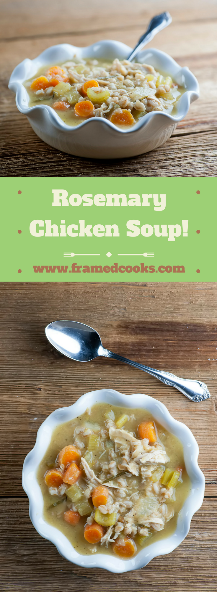 Take homemade chicken soup to aromatic new heights by adding rosemary to the mix!