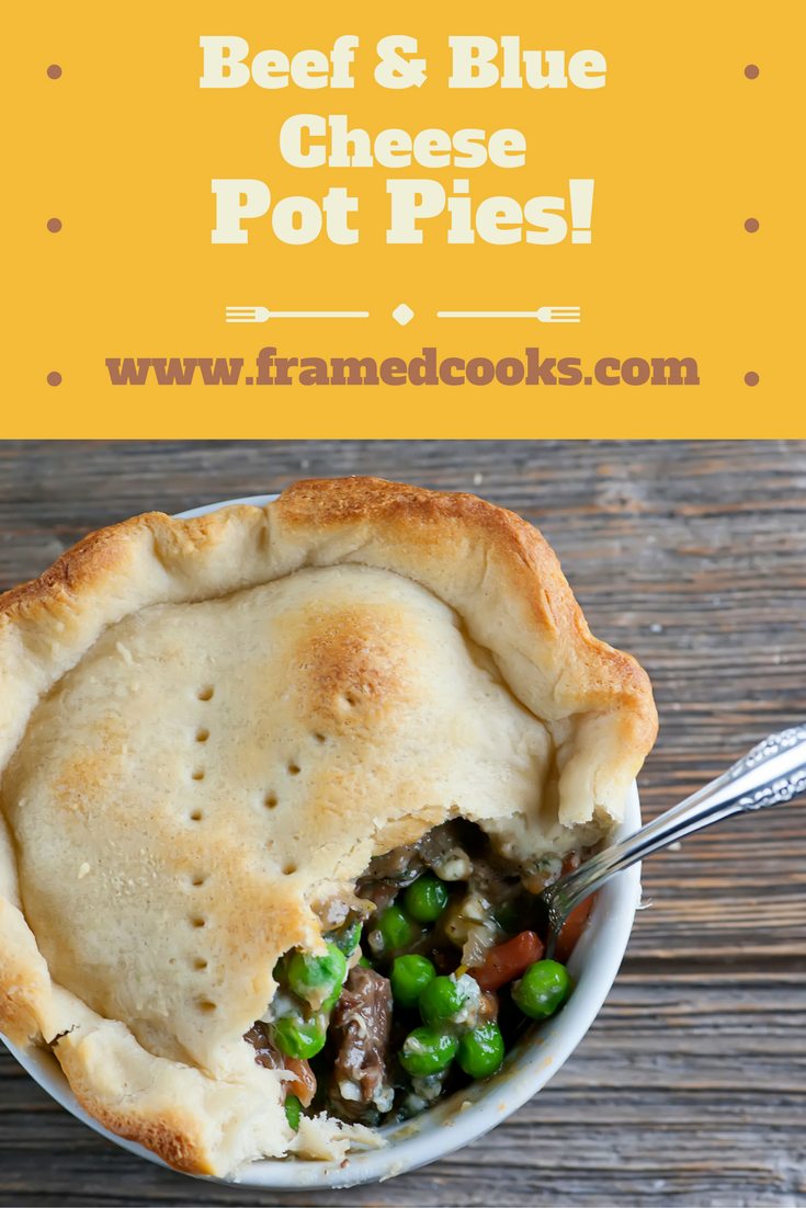 This delectable beef and blue cheese pot pie is all yours and yours alone with this easy recipe!