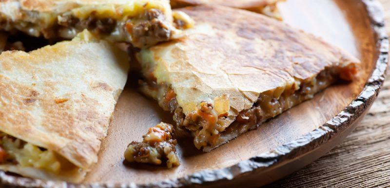 Shepherd's Pie Quesadillas