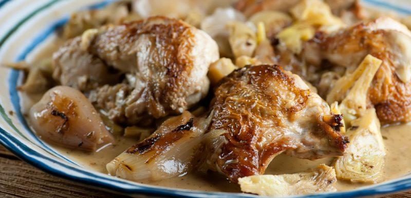 Bistro Artichoke Chicken