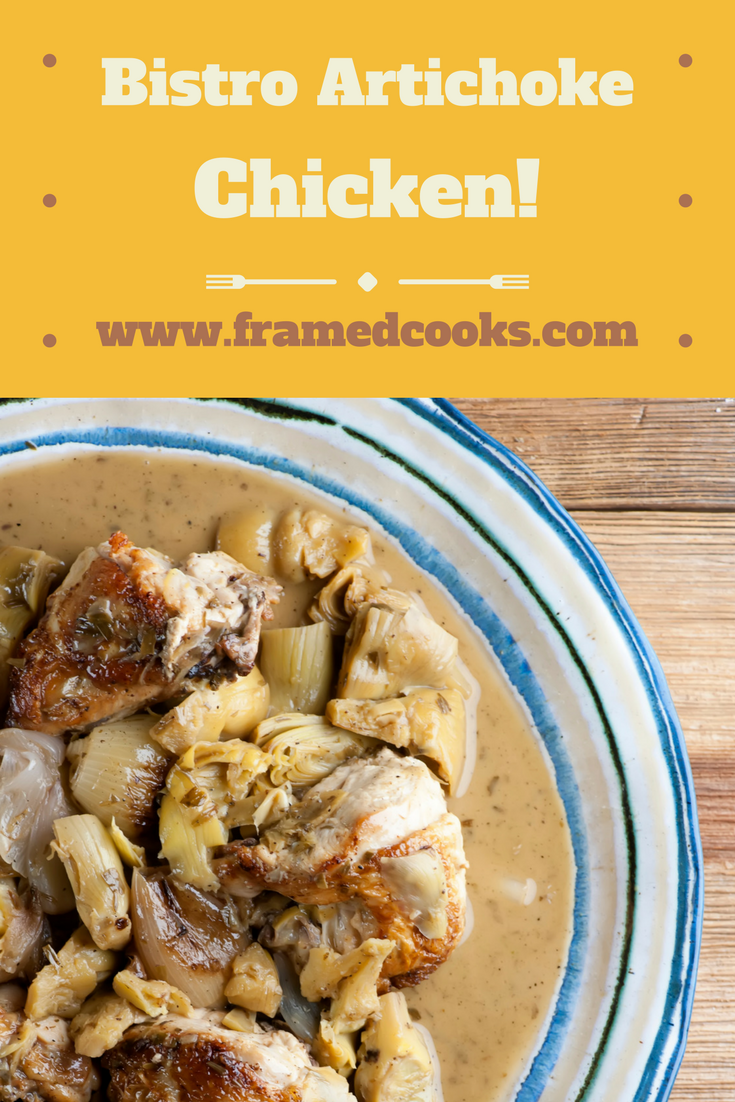 This recipe for bistro artichoke chicken is a springtime breeze to make!