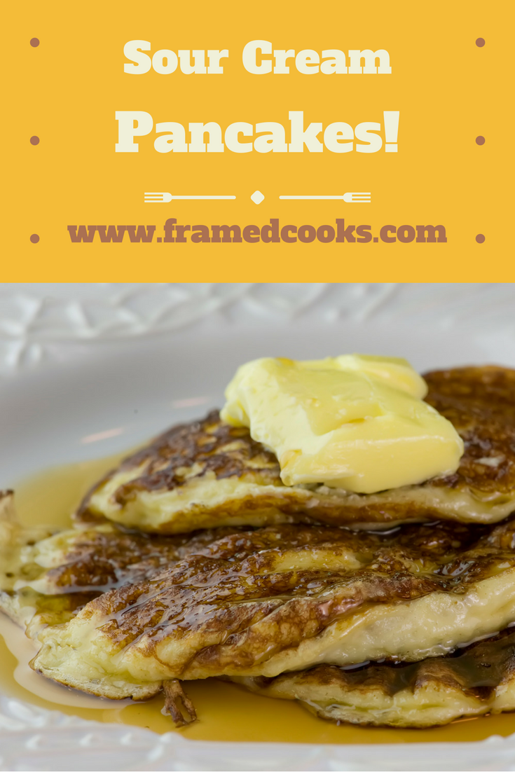 These light and fluffy sour cream pancakes from Pioneer Woman Ree Drummond's picture book LITTLE REE are so deliciously easy!