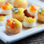 Easy Fancy Deviled Eggs