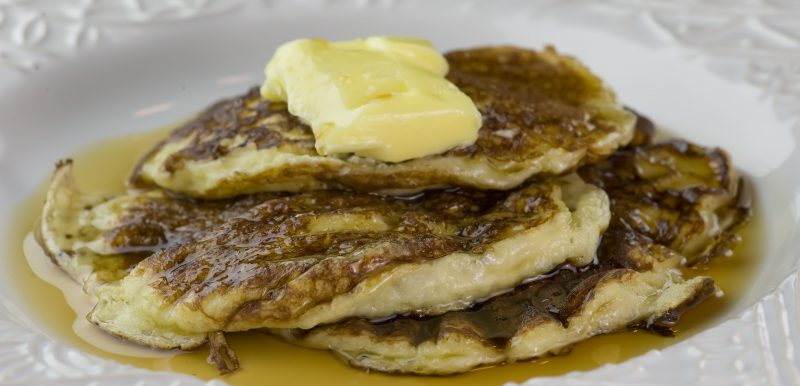 Sour Cream Pancakes…and a Giveaway!