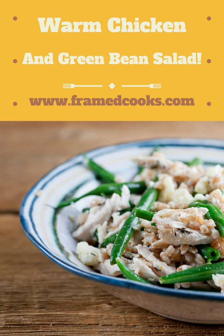 This easy warm chicken and green bean salad can be customized all kinds of delicious ways!
