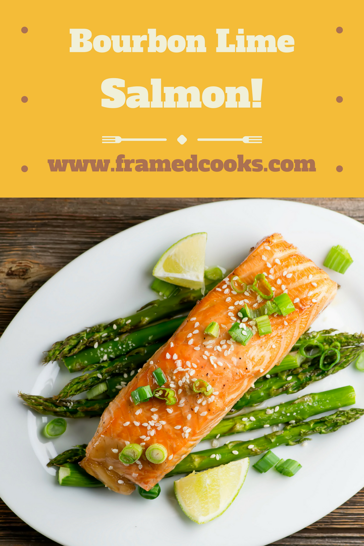 Sass up your salmon with a little bourbon and lime juice with this easy recipe!