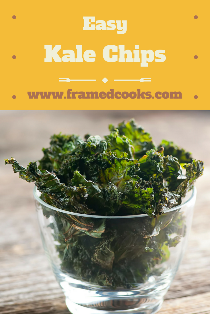 Make snack time all kinds of healthy with this simple recipe for easy kale chips!