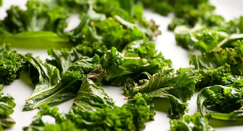 Easy Kale Chips - Framed Cooks