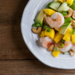 Mango Shrimp Salad