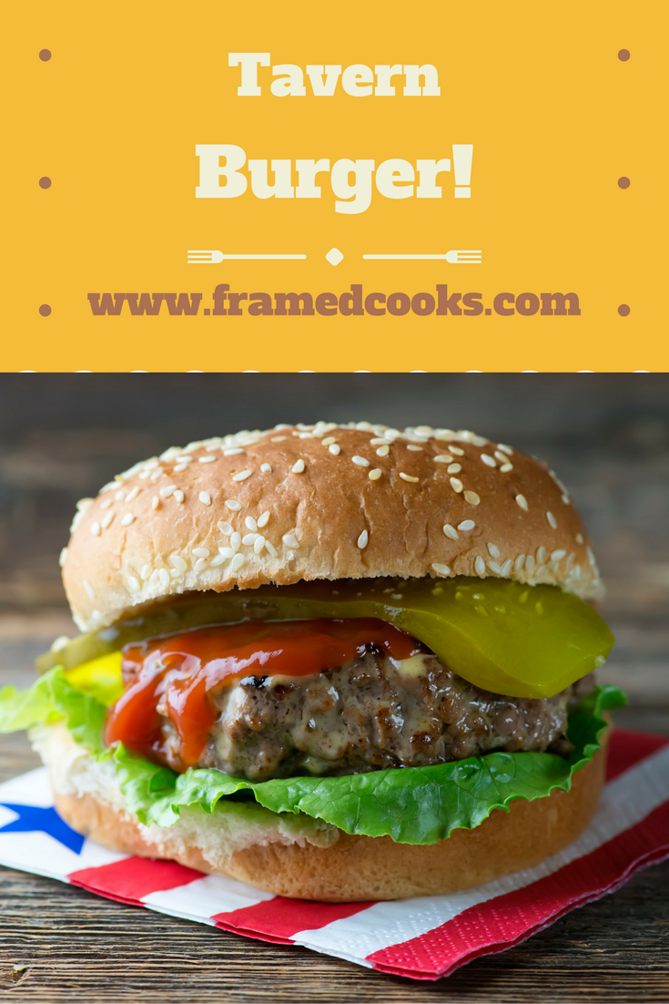 Love your burgers thick and juicy?  This recipe is for YOU!