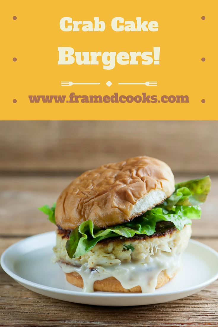 Love burgers and also love seafood?  Then this easy crab cake burger recipe is perfect for you.  Grab your Old Bay seasoning and fire up the griddle!