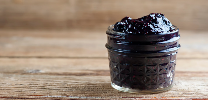 Easy Blueberry Chia Jam