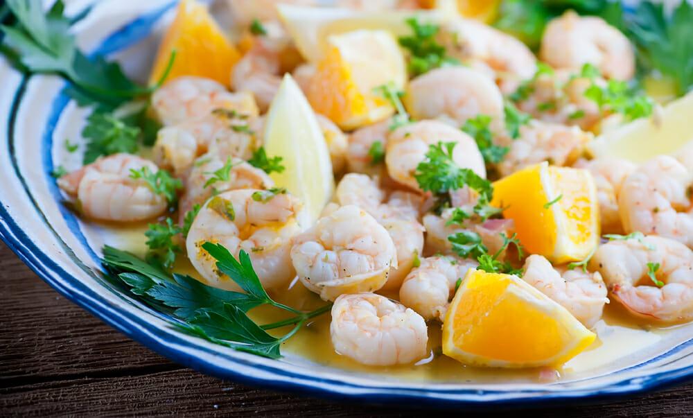 citrus shrimp