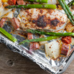 sheet pan chicken and sausage