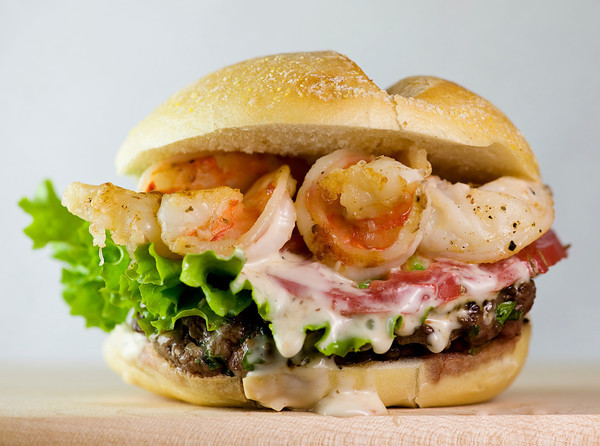 Surf Burgers >> Surf And Turf Burgers Framed Cooks