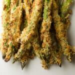 honey breadcrumb asparagus