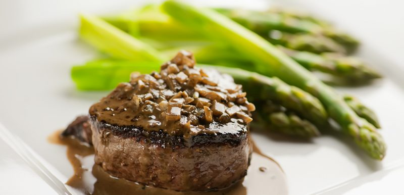 Easy Steak au Poivre