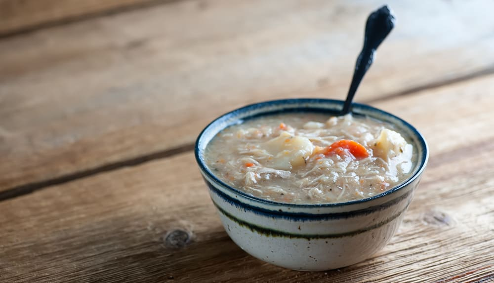 Slow Cooker Potato Chicken Soup