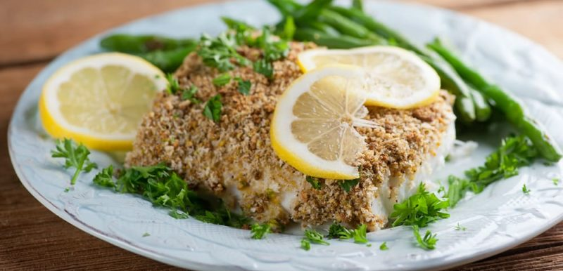 Pistachio Roasted Cod