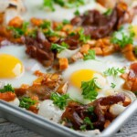 Sheet Pan Bacon and Eggs